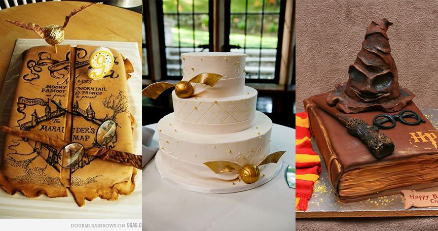 15 Jaw-Droppingly Gorgeous Harry Potter-Themed Cakes | TheThings