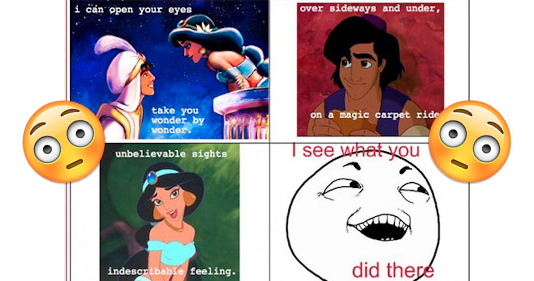 Sexualized disney princes tumblr