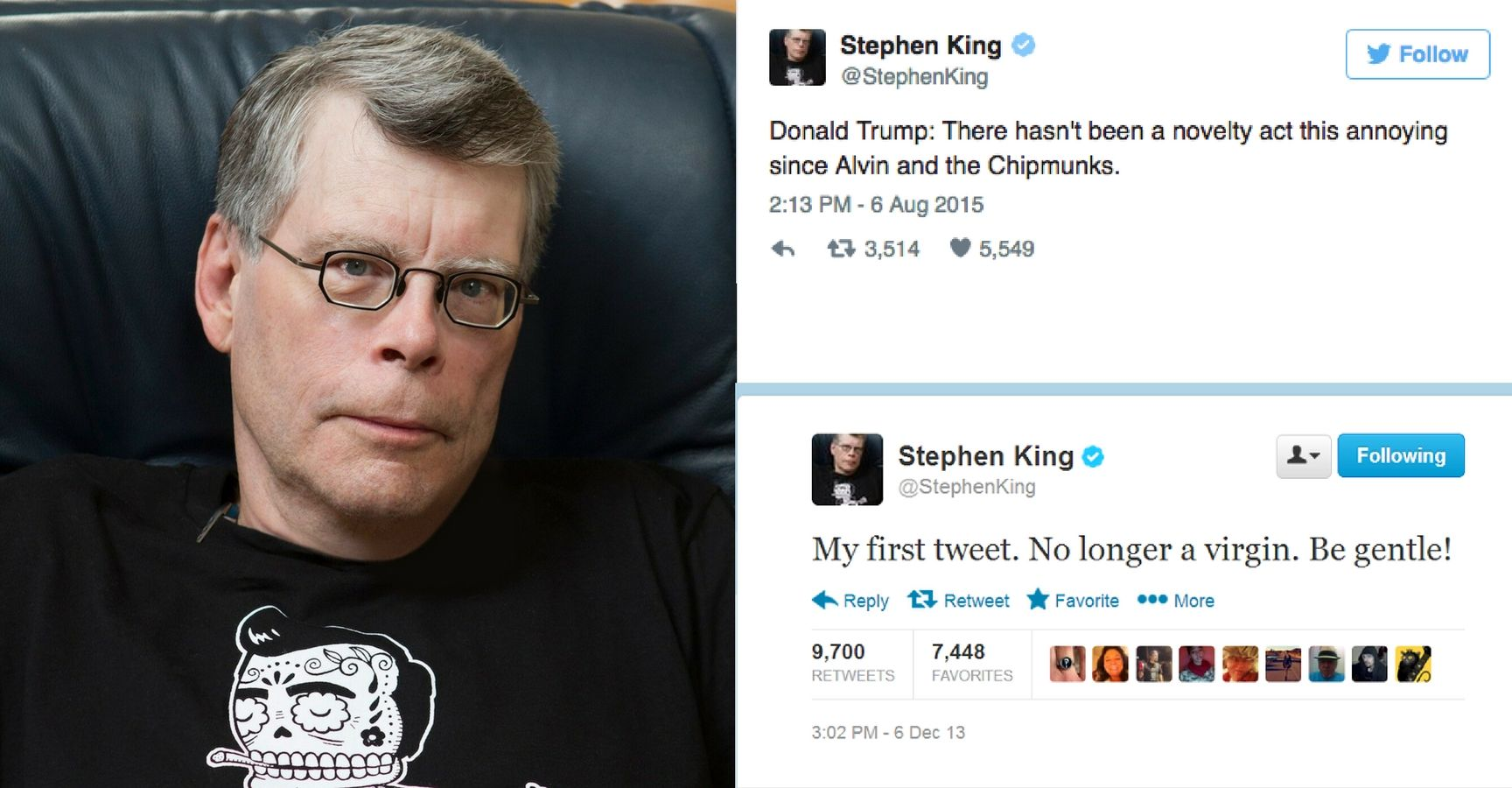 Stephen King Twitter