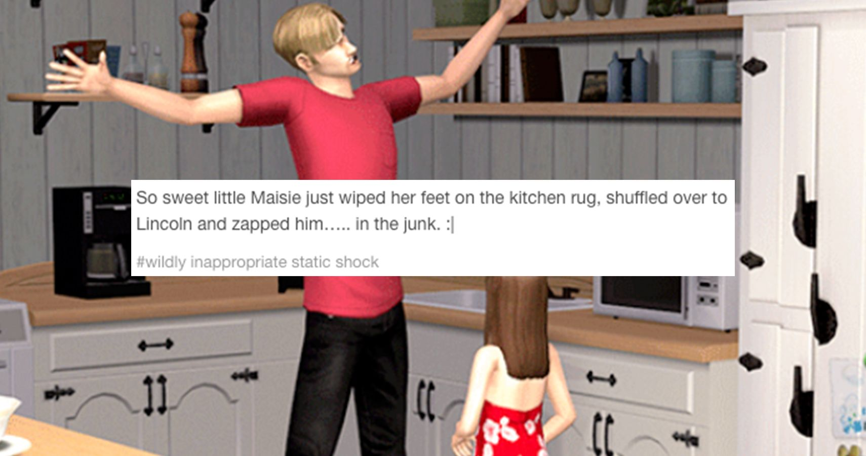 15 Of The Most Inappropriate Tumblr Posts About The Sims
