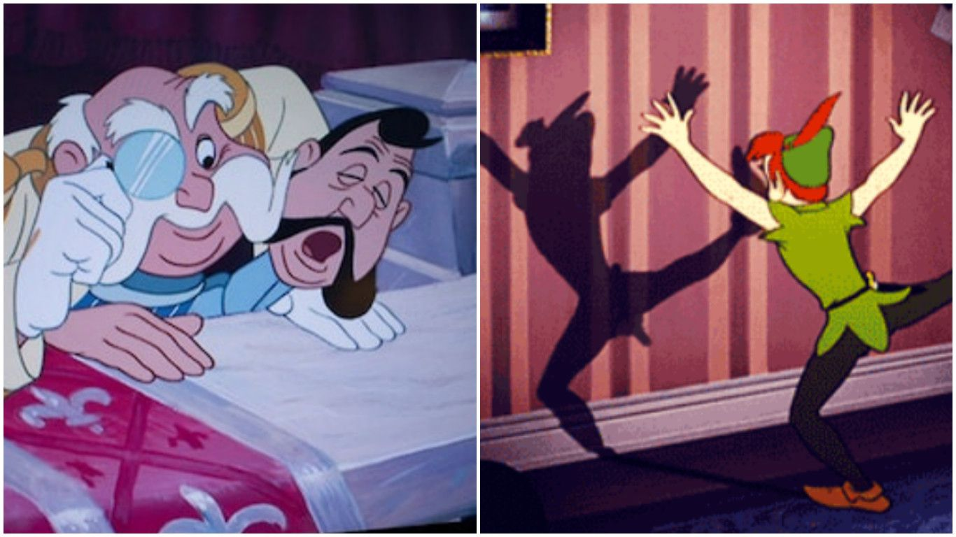 15 hilarious images that prove why you should never pause a disney movie