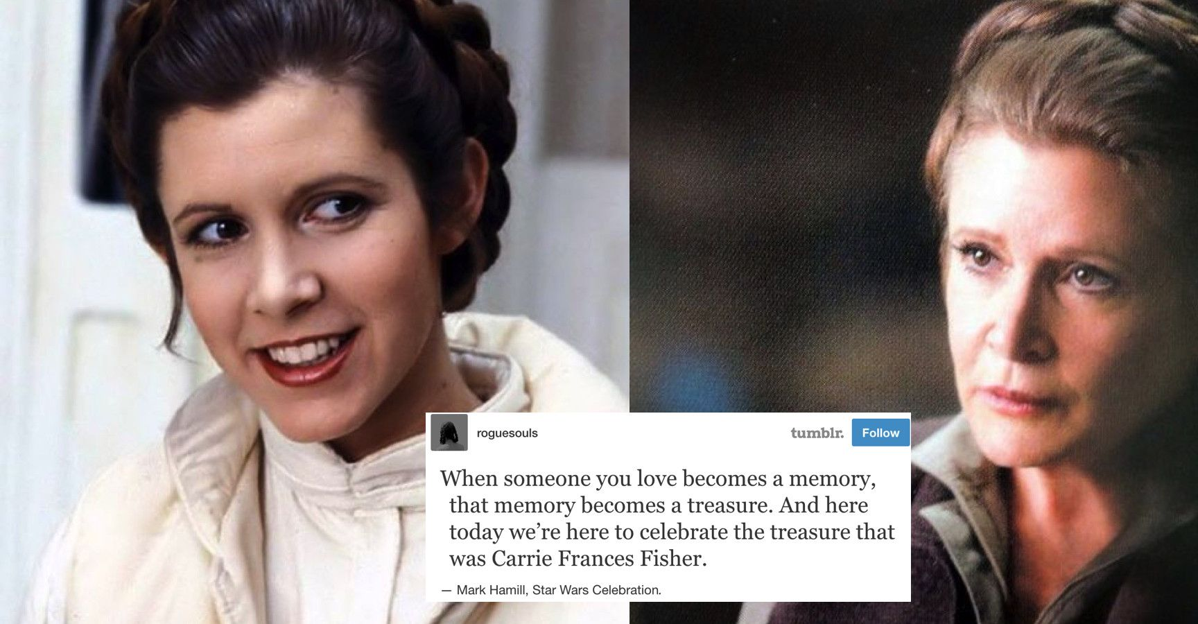 15 Tumblr Posts About Carrie Fisher That Will Give You All The Feels