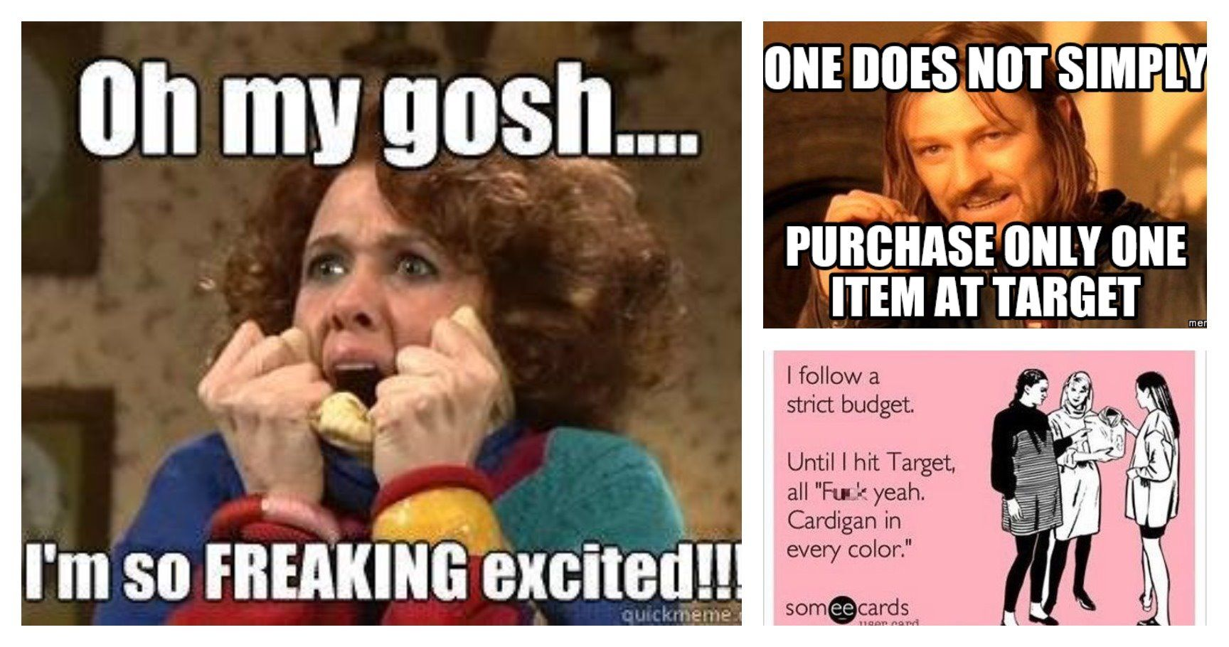 15 memes about target runs that all of us can low key relate to. Black Bedroom Furniture Sets. Home Design Ideas
