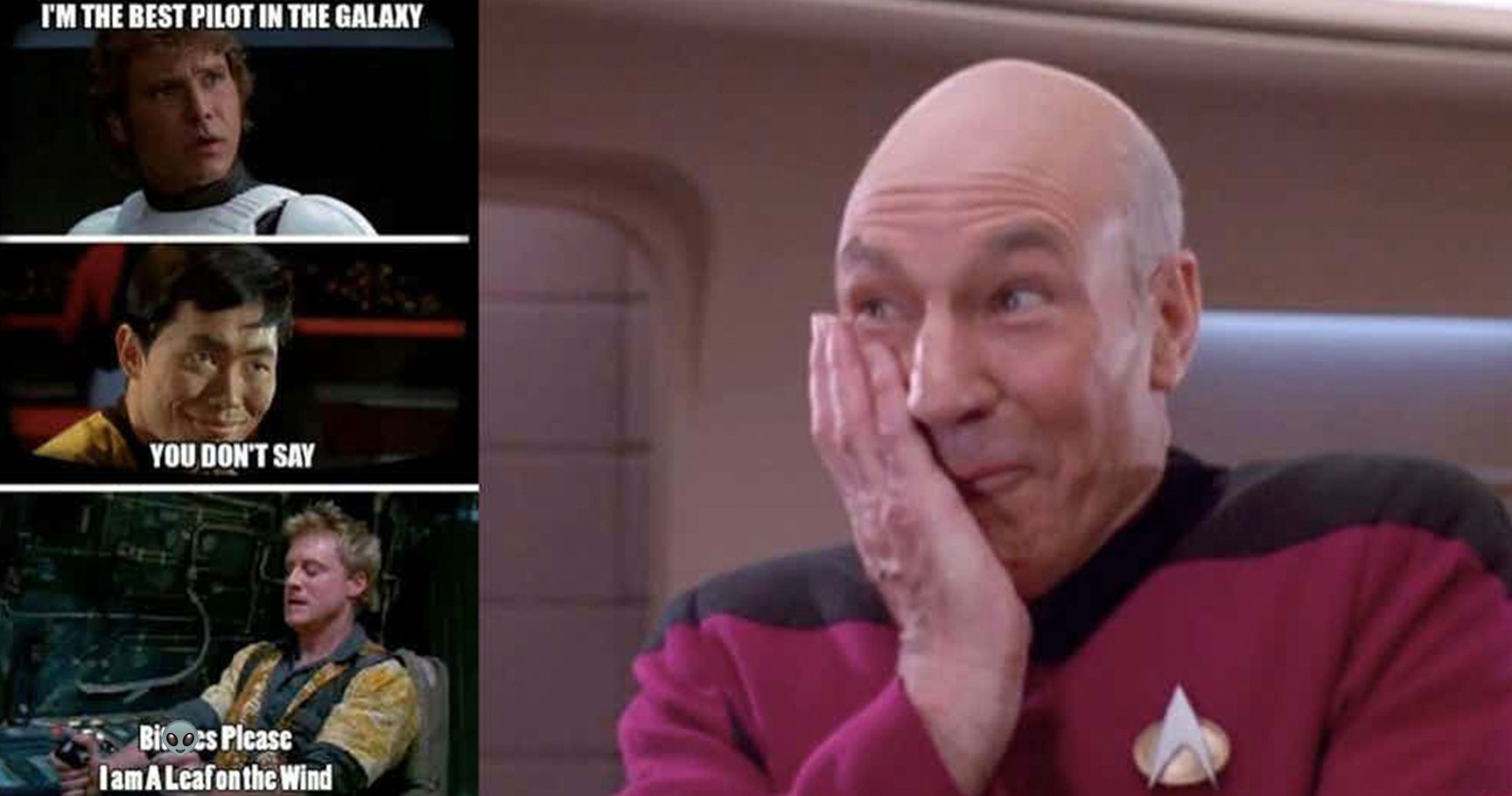 star 15 star trek vs star wars memes that will have you on the floor