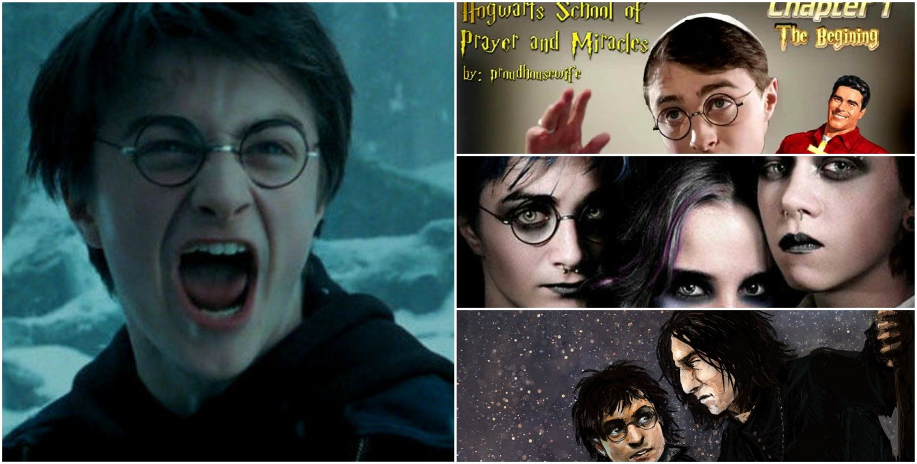 Craziest 'Harry Potter' Fan Fictions Of All Time | TheThings