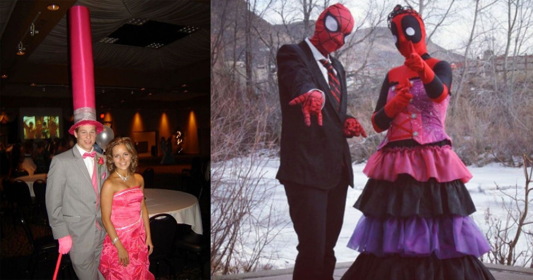 24 Prom Couples Who Are A Match Made In Hades | TheThings