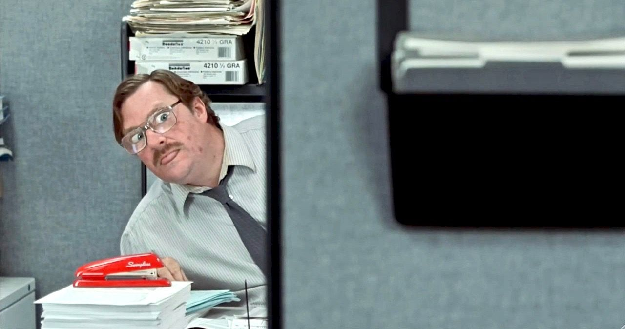 Swingline Gives Away Milton S Iconic Red Stapler For Office Space