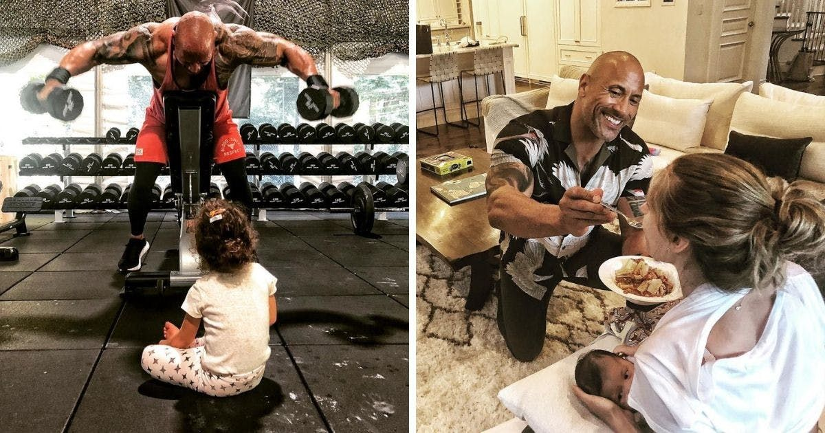20 Parenting Styles We'd Only See From The Rock