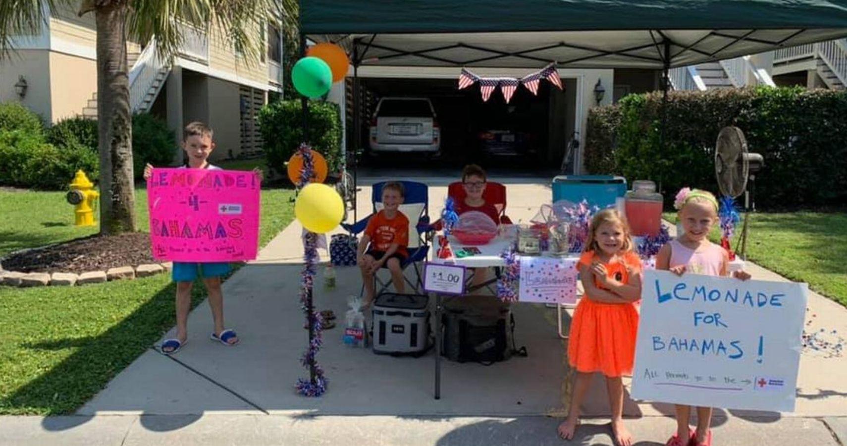 Hilton Head Children Raise $10 000 For Hurricane Dorian ...