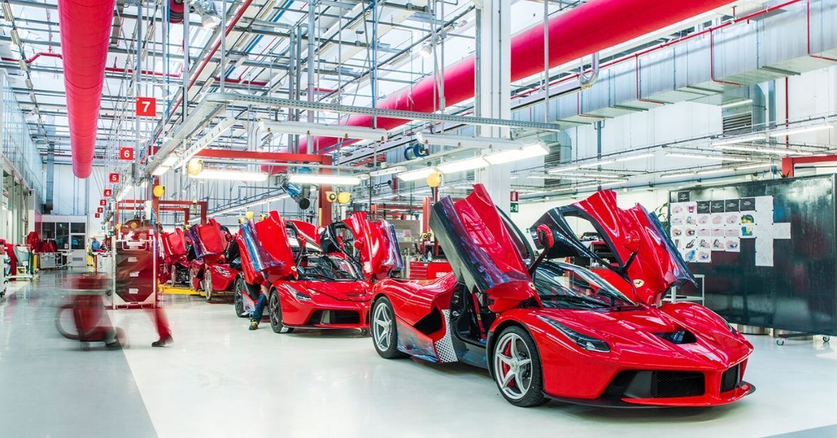 Ferrari 19 Little Known Facts From The Assembly Line Thethings