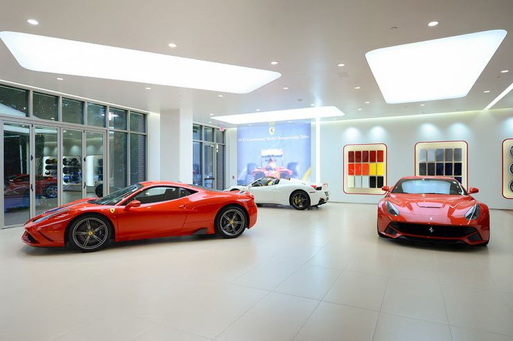 15 Surprising Facts About Ferrari Dealerships Thethings