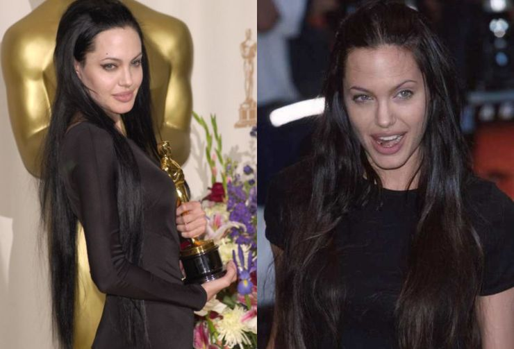 Angelina Jolie S Hair Transformation Over The Years Thethings