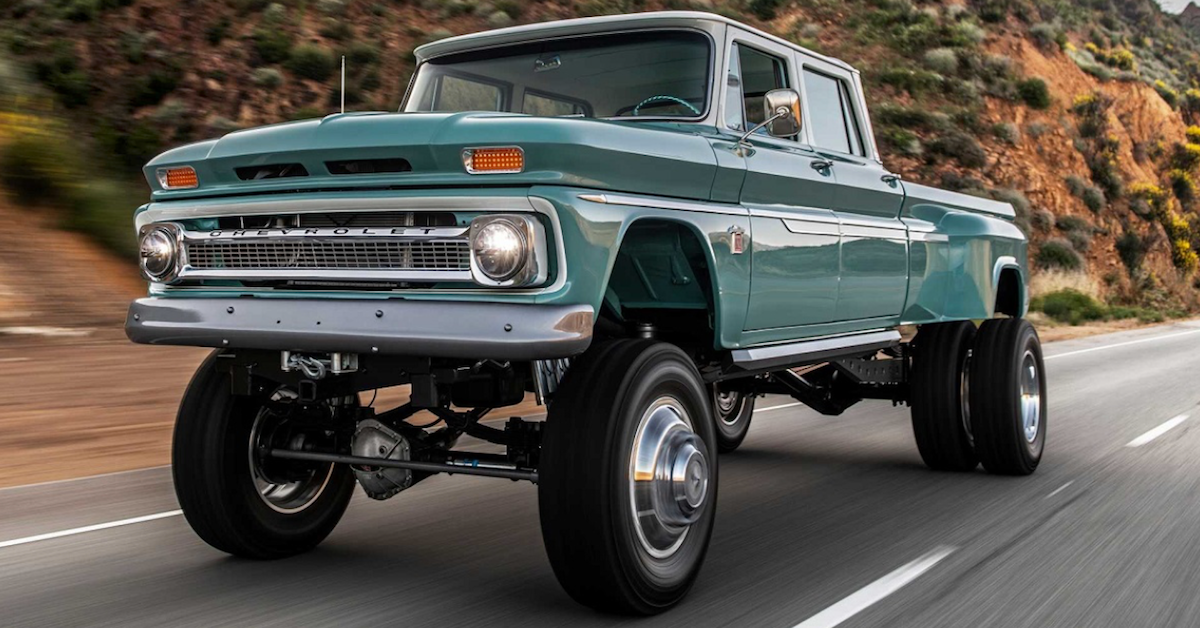 14 Stunning Photos Of Customized Classic Chevy Pickups