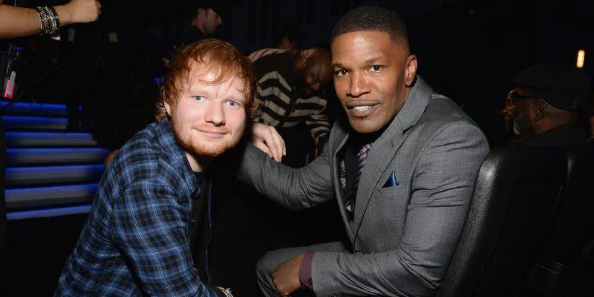 Why Jamie Foxx Let Ed Sheeran Sleep On His Couch | TheThings