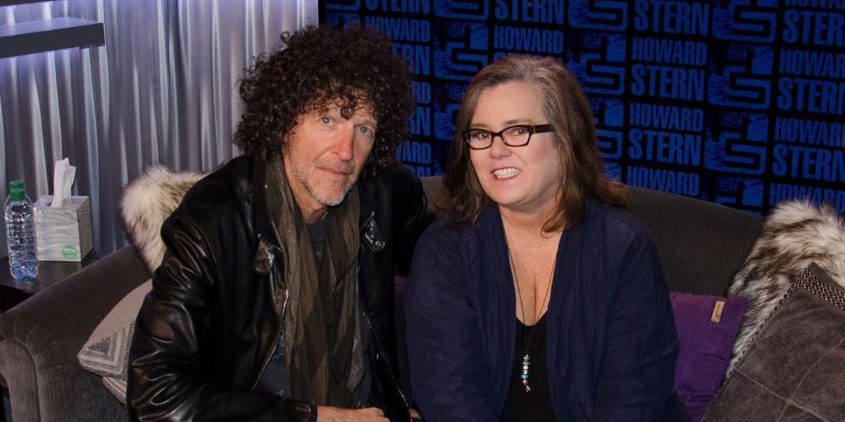 The Truth About Howard Stern's Relationship With Rosie O'Donnell