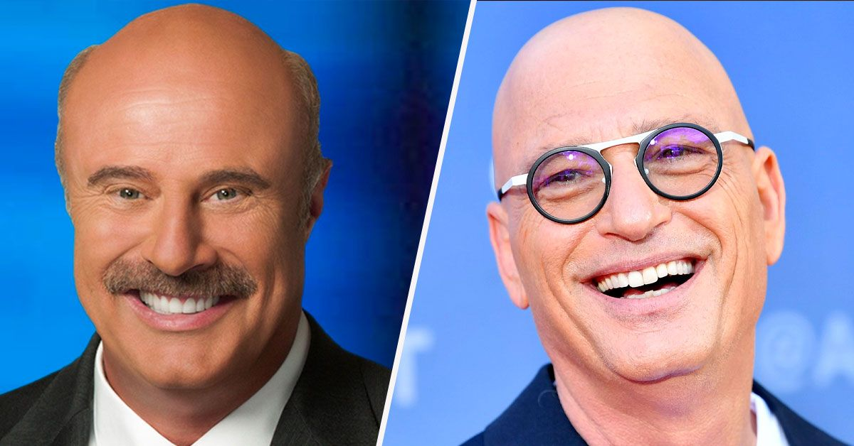 Howie Mandel And Dr. Phil Get A Little Weird, And Fans Are Confused