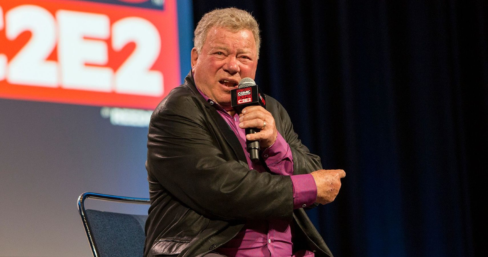 William Shatner Advises Aspiring Actors So They Don't Get Robbed By Their Agents