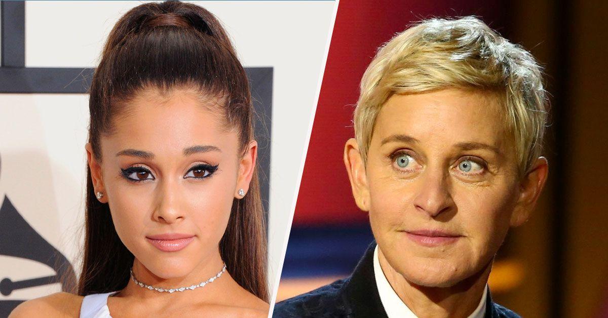 Ellen DeGeneres Tries To Figure Out When Ariana Grande Will Release Her Album
