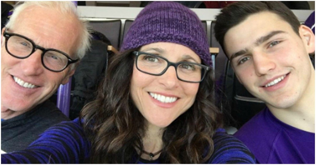 Who Is Julia Louis-Dreyfus' Son, Charlie Hall? | TheThings