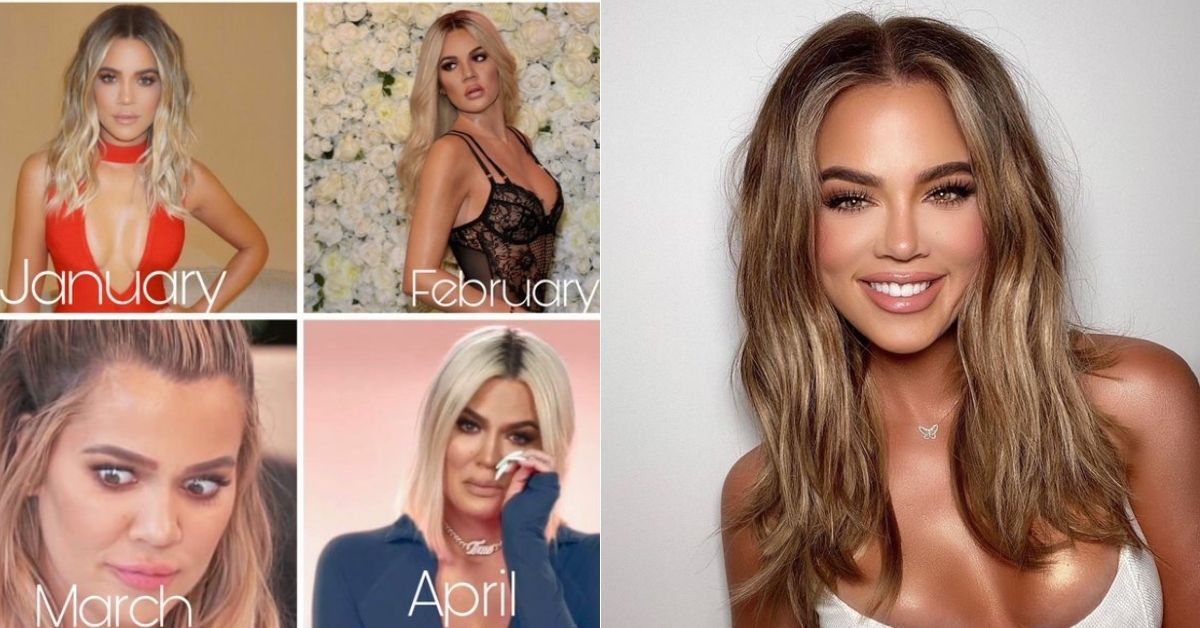 Khloé Kardashian Fans Pitch A 2021 Calendar 'With A New Face For Every Month'