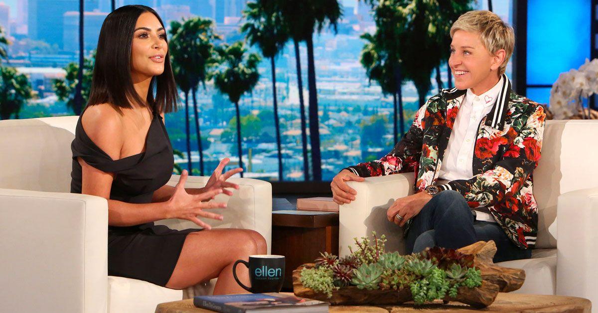 Ellen DeGeneres Wishes Kim Kardashian Happy Birthday, Fans Respond With Hatred Towards Them Both