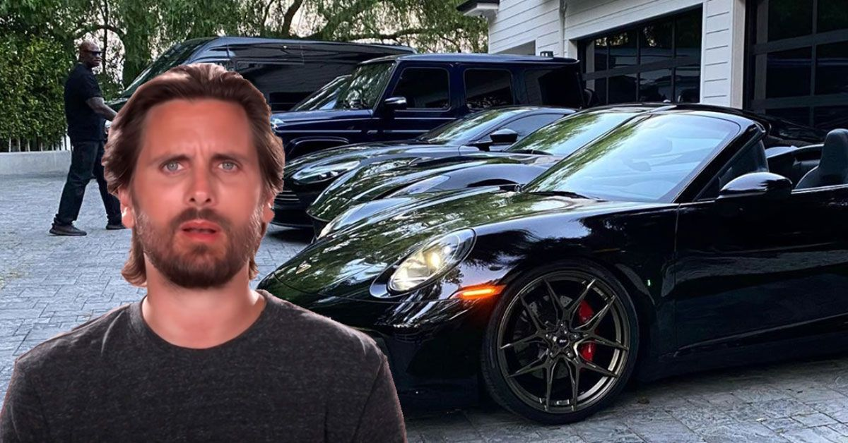 Fans Slam Scott Disick's Greed After Boasting His Car Collection On Social Media