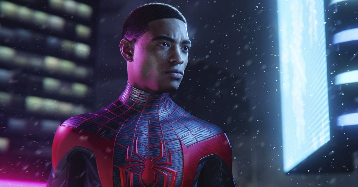 Here's A Sneak Peek Of The New Spider-Man: Miles Morales Game