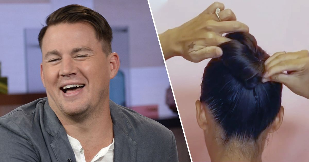 Channing Tatum Is Weirdly Into This IG Topknot Tutorial