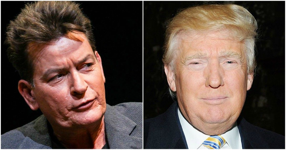Donald Trump Gave Charlie Sheen The Worst Wedding Gift Ever