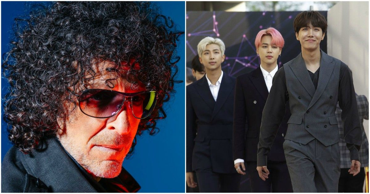 Howard Stern Defended BTS From Racist Attacks From His Own Staffer