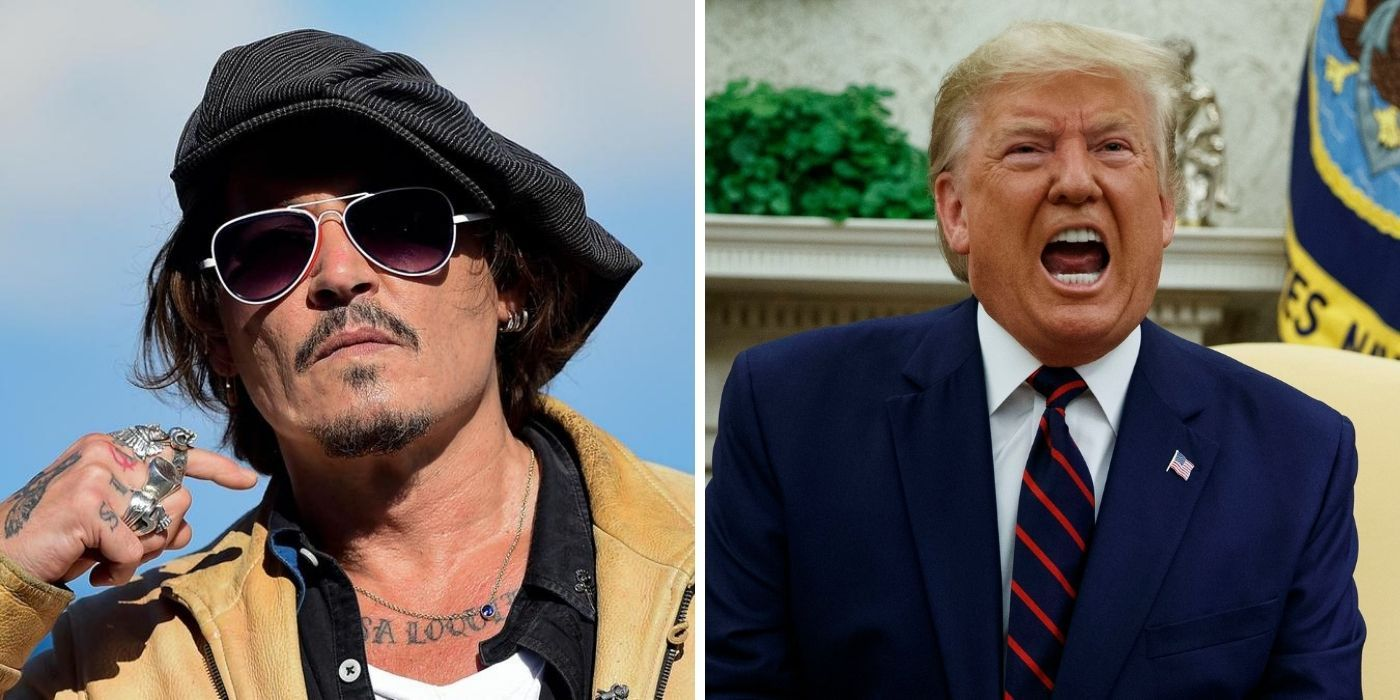 Could Johnny Depp Portray Donald Trump In A Movie? | TheThings