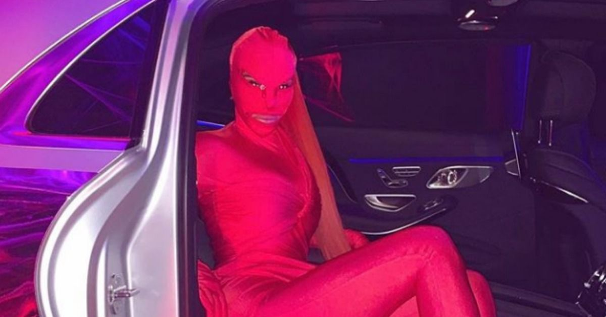 Fans Are Confused On What Kim Kardashian Wore For Halloween