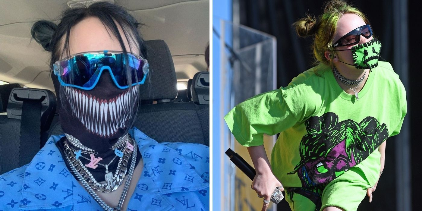 Here's Why Billie Eilish Was Wearing A Face Mask Before Everyone Else