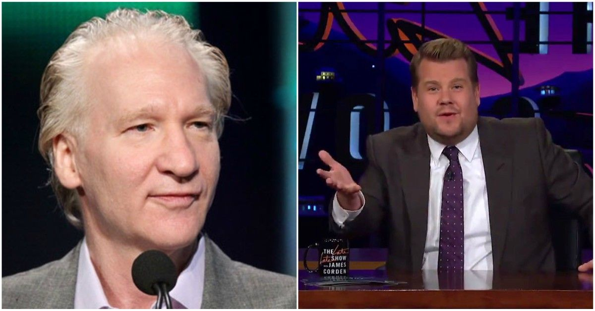 Inside Bill Maher's Feud With James Corden
