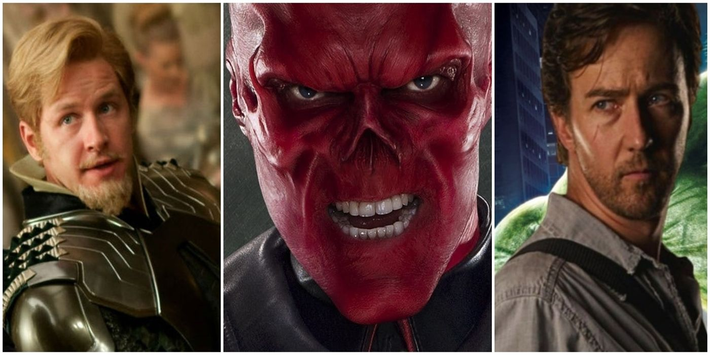 Every MCU Character Who's Been Recast (So Far) | TheThings