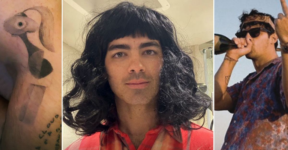 Joe Jonas Just Did The 'Post A Pic' Challenge With Hilarious Results