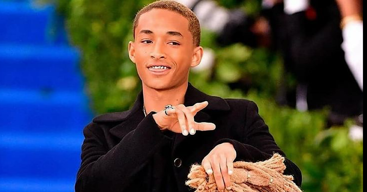 Jaden Smith's Batman Costume At Kim And Kanye's Wedding: Explained