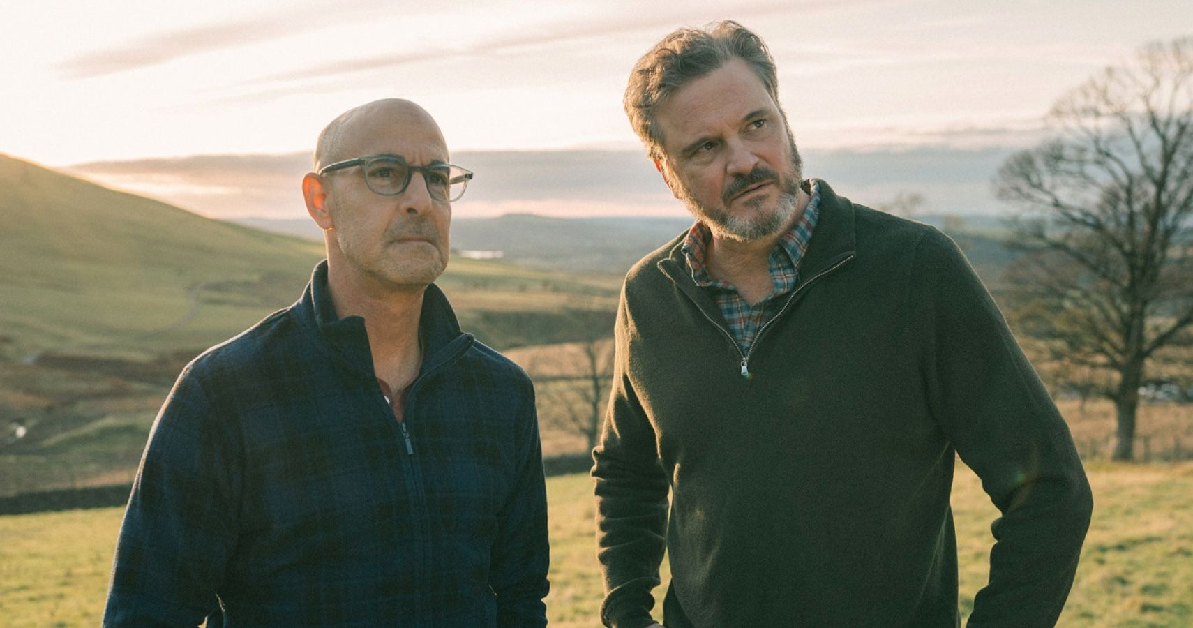 Stanley Tucci And Colin Firth Revealed They Switched Roles For Queer Drama 'Supernova'