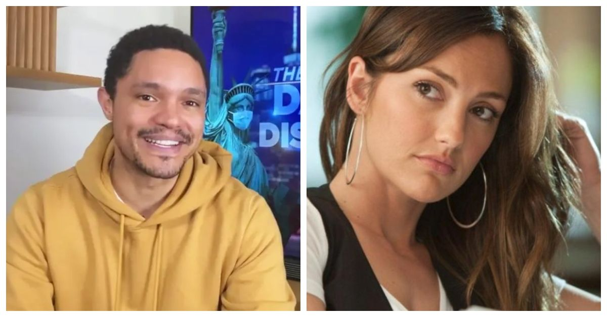 How Did Trevor Noah And Minka Kelly Fall In Love?   TheThings