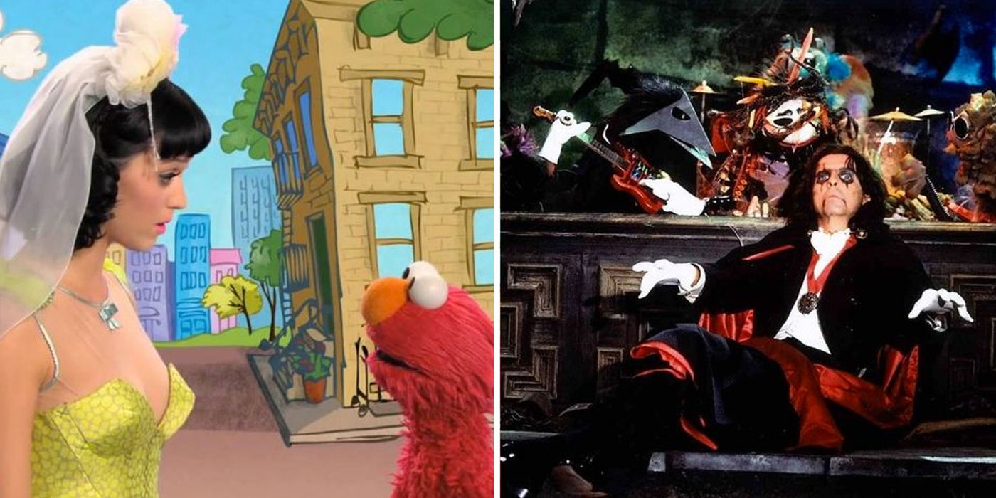 10 Most Awkward Musician Appearances On Kids TV Shows & Cartoons