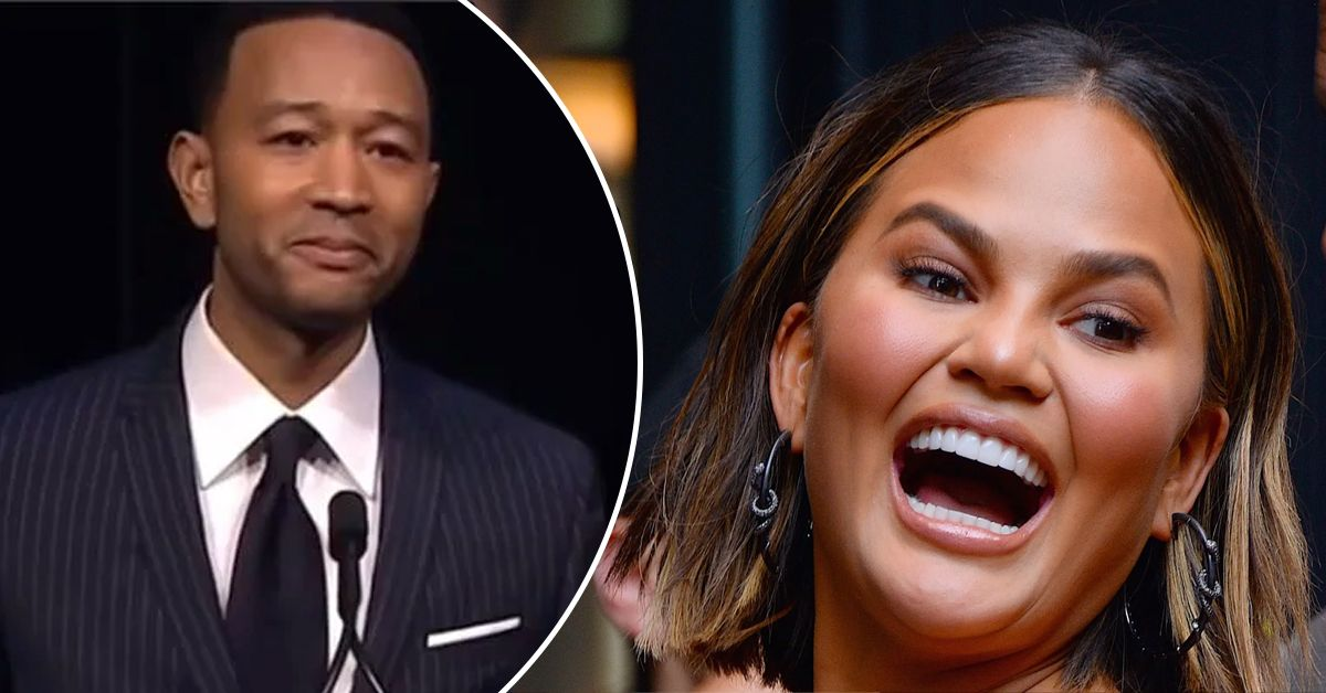 Chrissy Teigen Fondly Remembers John Legend Getting Traumatized At The Oscars