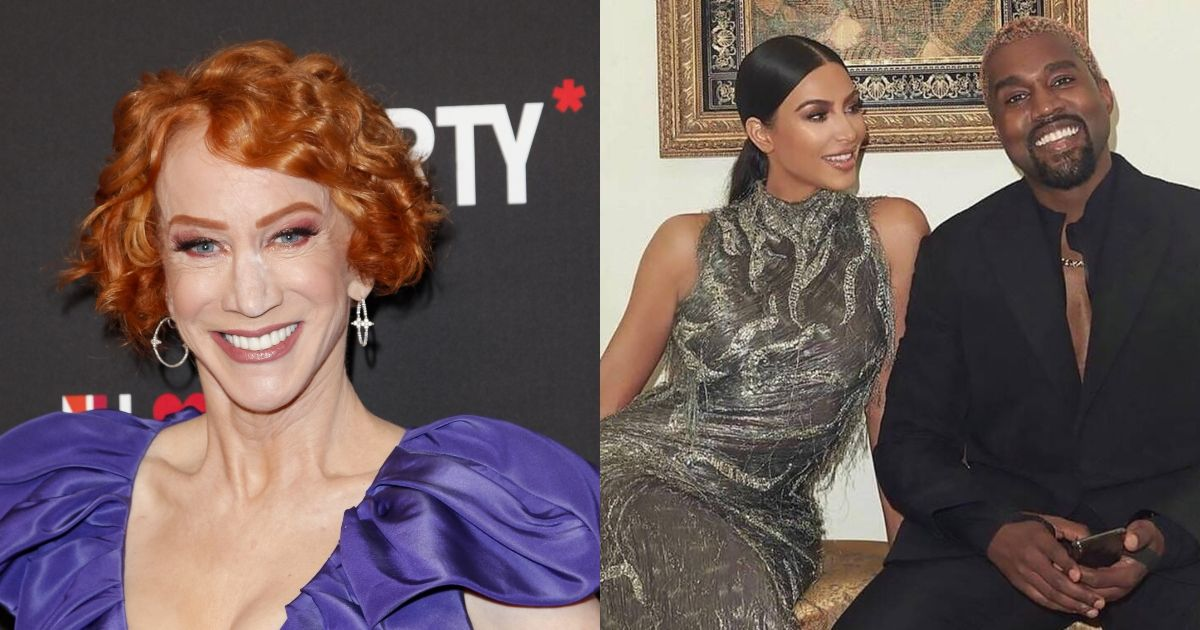 Kathy Griffin Is First Celeb To Chime In On Kim Kardashian And Kanye West's Imminent Divorce