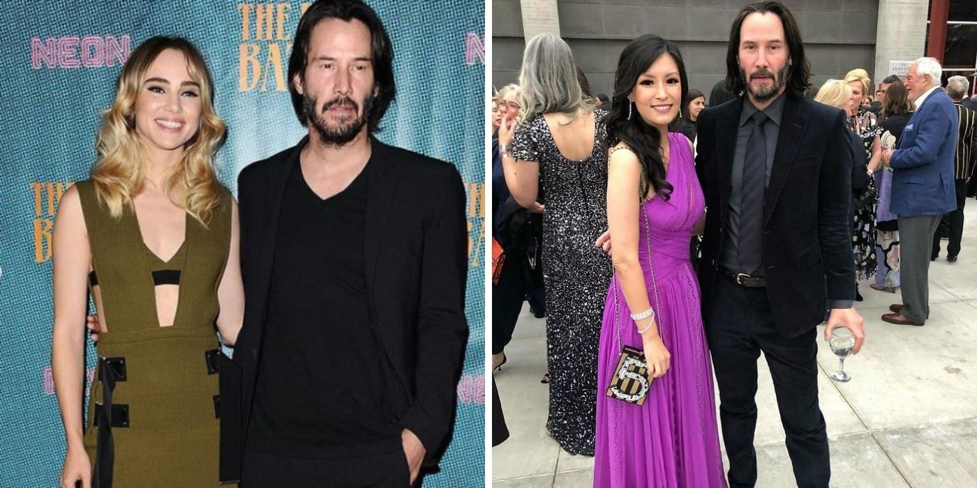 Why Keanu Reeves Never Makes Contact With Fans When Taking Pictures