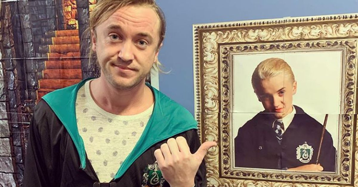 Tom Felton Reveals A 'Harry Potter' Easter Egg Nobody's Ever Noticed
