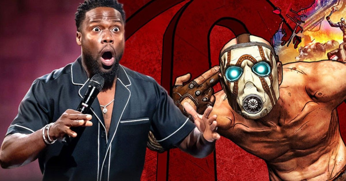 Fans Respond To Kevin Hart's Huge New Role In 'Borderlands', The Movie