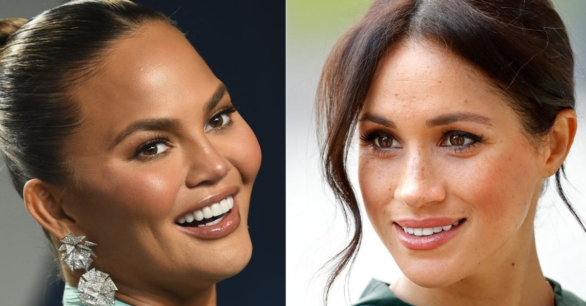 Chrissy Teigen Comes Under Attack As She Defends Meghan Markle