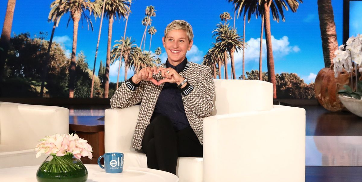 Ellen DeGeneres Posts Hilarious Throwback That She's Still Laughing At 14 Years Later