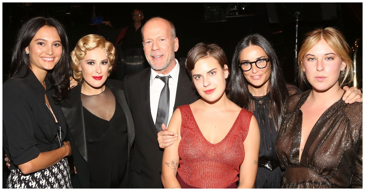 Do Bruce Willis' Two Families Actually Get Along?