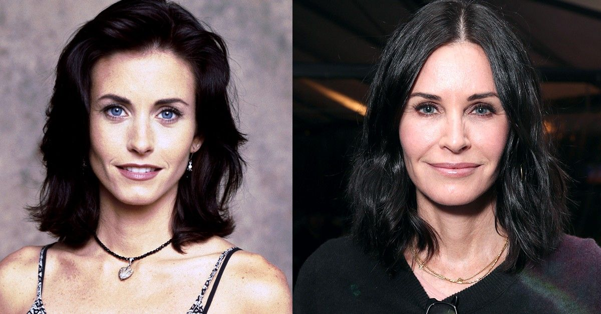 Courteney Cox Sends 'Friends' Fans Monica Vibes By Cooking Up A Storm
