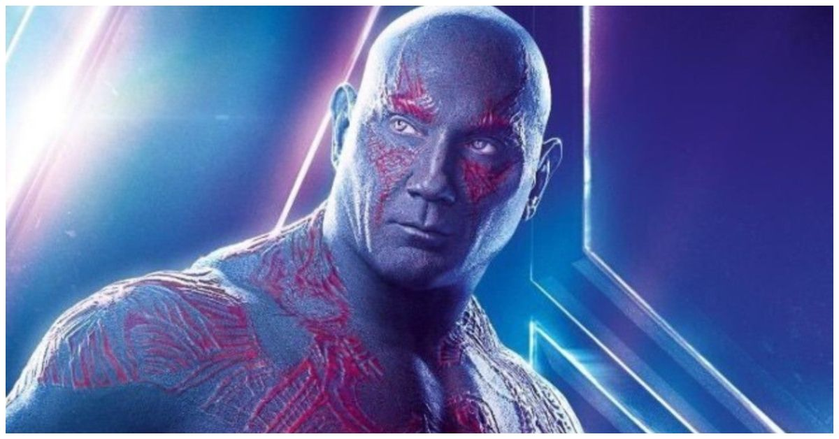 Here's What Dave Bautista Has To Do To Get Out Of His Drax Makeup